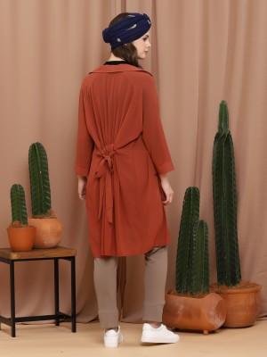 Long Sleeveless Parka Dress