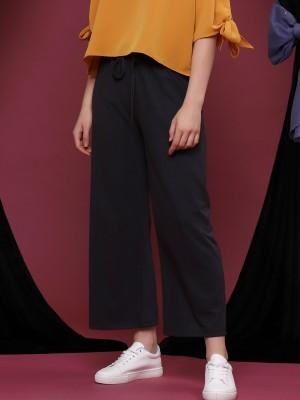 Drawstring Wide Leg Pants