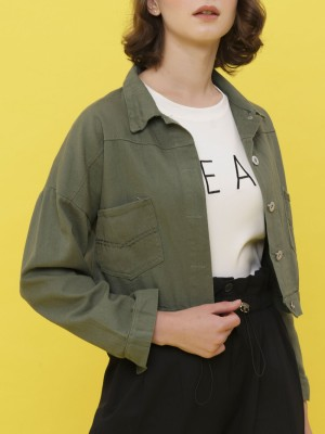 D-SL Crop Jacket