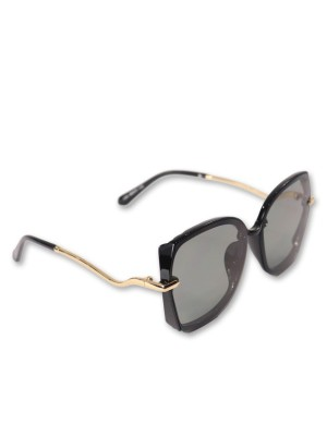 Gold Pleated Ear loop Sunglasses