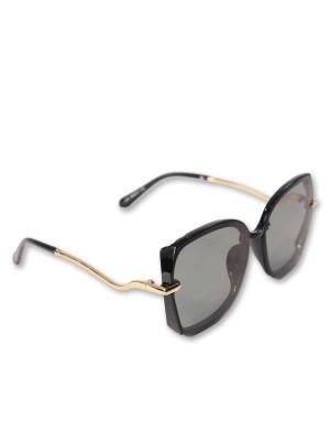 Gold Pleated Ear loop Sunglasses