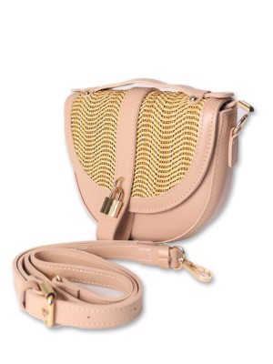 Hay Knit Sling Bag