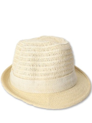 Round Hay Knit Hat