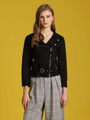 Bottom Belt Biker Jacket