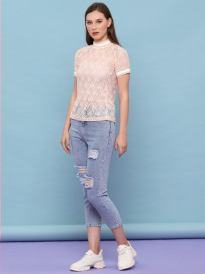 See Thru Lace Tee