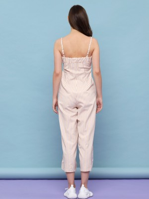 Checkered Jumpsuit