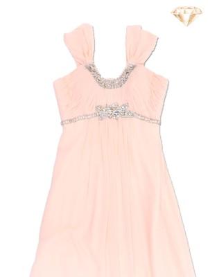 Grecian Diamante Flow Gown