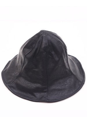 Faux Leather Fishing Hat