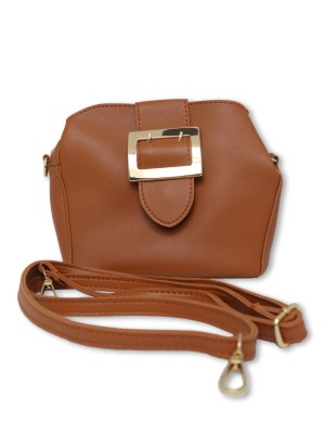 Flap Big Buckle Mini Sling Bag