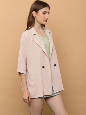 Double Breasted Oversize Blazer