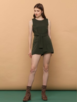 Front Tied Playsuit