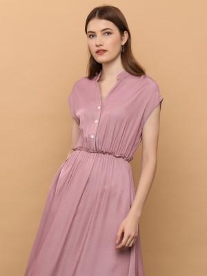 Rife Waist Line Dress