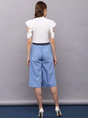 Belted Long Culottes
