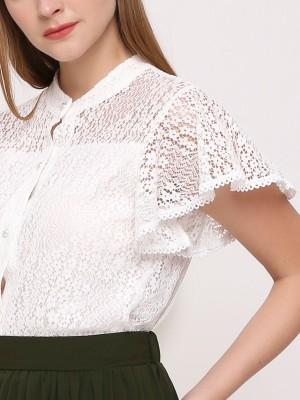 Flower Lace Shirt