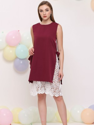 2 Ways Wear Embroidered Dress