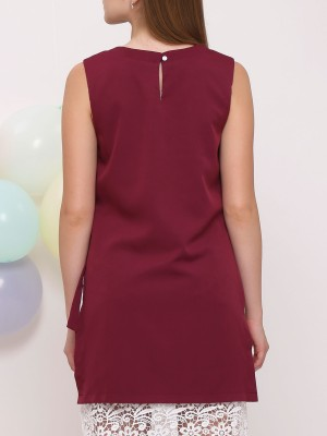 2 Ways Wear Embroidered Dress