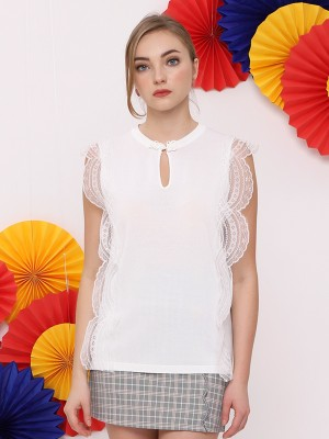 FC Lace Lining Oriental Top