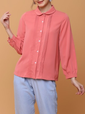 Parallel Pleats Shirt