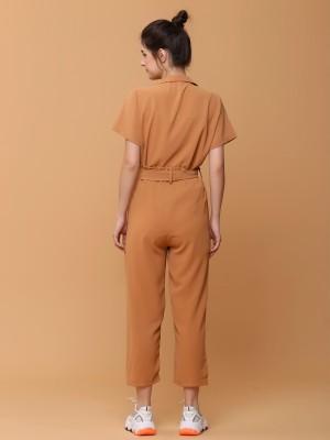 2pcs Set Blaze Collar Shirt with Long Pants