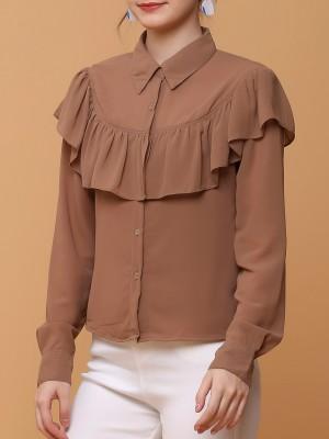 ruffles shirt