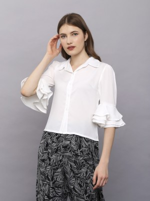 Ruffles Sleeve Shirt