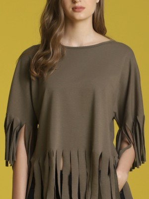 Frilly Indian Tunic