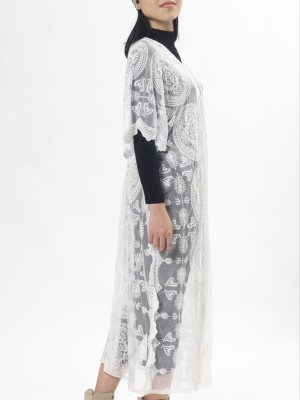A-Sl Leb Midi Outer Lace Dress
