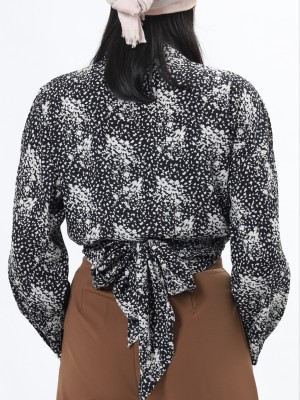 Abstract Print Outer Top