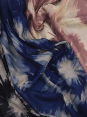 Dyed print pashmina