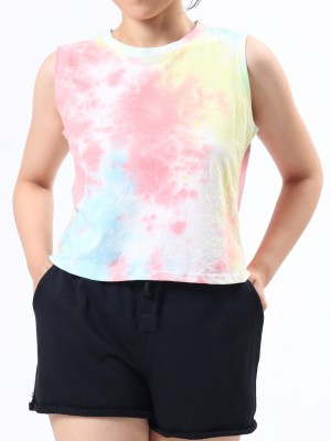Sleeveless Liquid Surface Tee
