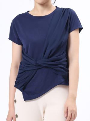 Twist-Front SSleeves Top