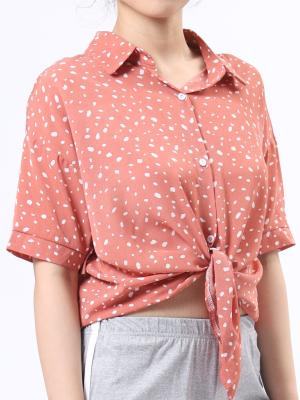 B-Sl Casual Print Shirt