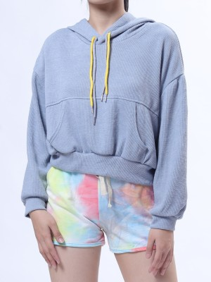 D-Sl You Hoodie Sweater With Colored String