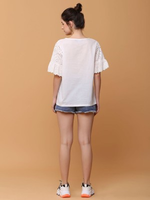 Overlapp Denim Short