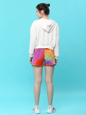 Dyed Drawstring Short