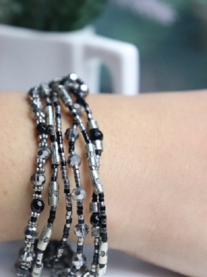 Beads layered bracelet