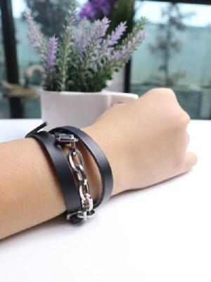 Leather hand-belt