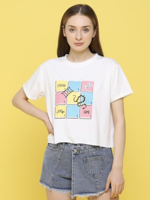 Game Legend Ular Tangga Cropped Tee