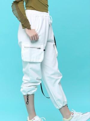 Ankie Drawstring Utility Cargo Pants