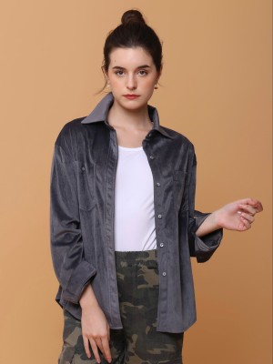 Suede Outer Shirt