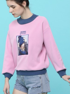 Gal Pic Emb Sweater