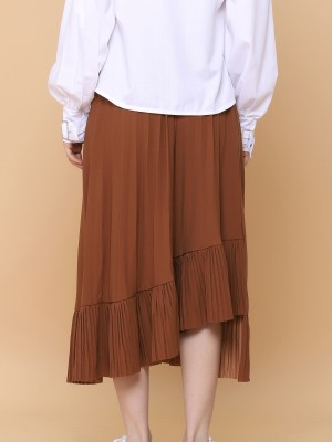 Layer Frill Long Skirt