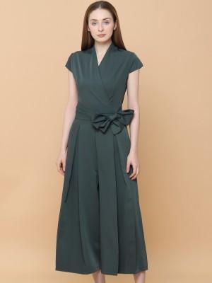 Overlap Long Dress