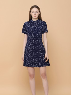 Dispersed Dot Mini Dress