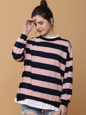 Layere Big Stripess L/Slv Top