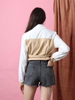 Shirt Sewn Top