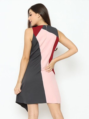 Lucky Charm Panel Colors Dress