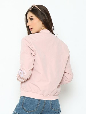 Lucky Charm Flower Sleeves Embroidered Jacket