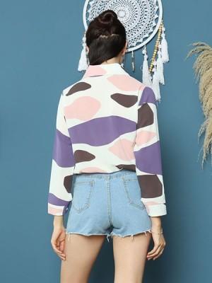 Cottage Core Color Patch Shirt