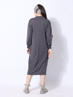 Ramadhan Moon Sides Buttoon Maxi Dress
